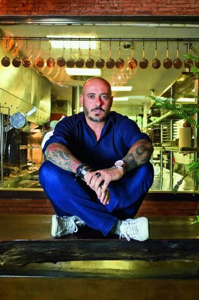 O chef Daniel Redondo