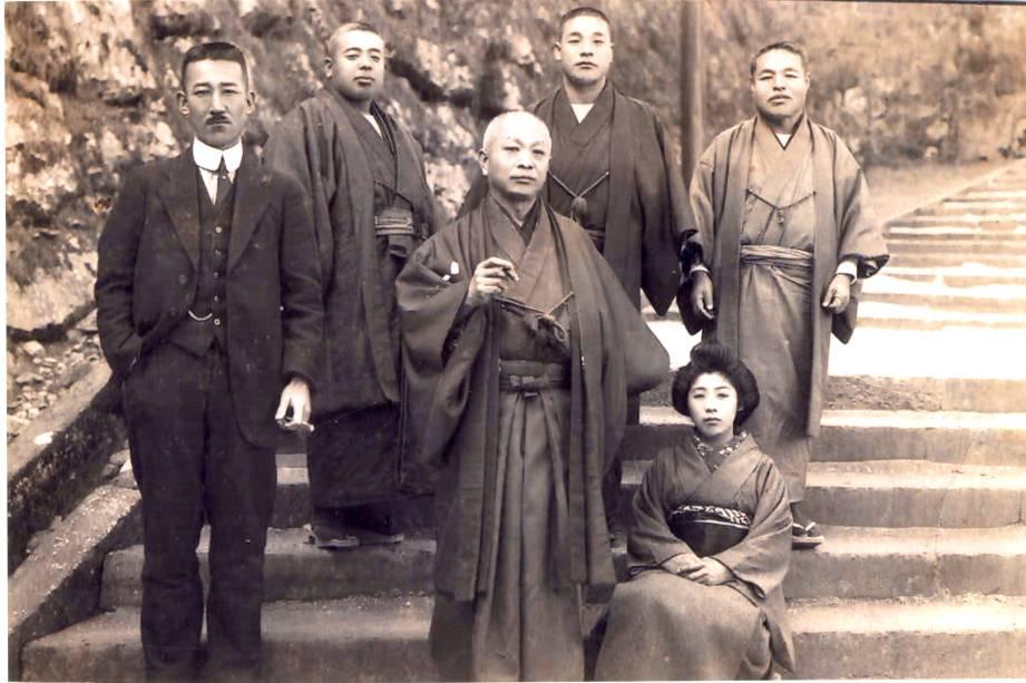 A família Mizuno, que veio á bordo do navio Kasato Maru