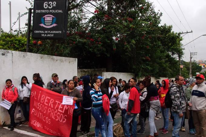 MTST REALIZA PROTESTO EM SP.