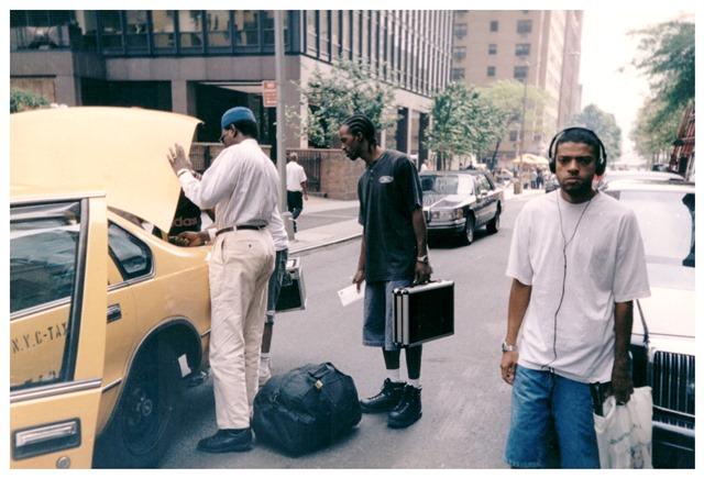 Ice Blue e KL Jay, em Nova York