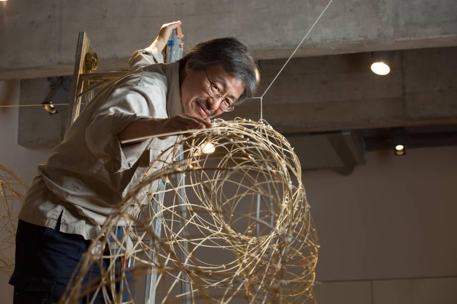 Instalação de Shigeo Kawasima foi construída ao longo de 10 dias