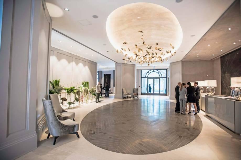 Palácio Tangará: lobby do totel