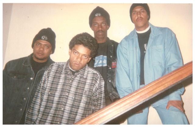 Racionais: Edi Rock, KL Jay, Ice Blue e Mano Brown