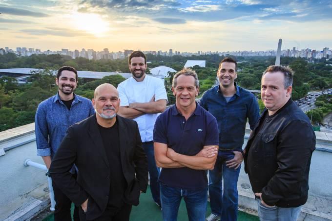 Sent Horário – Leo Sanchez, Walace Giuzo, Marcelo Correa Bastos, Felipe Bellim, Eduardo Vitale e Jairo Chansky – GAROAFOTO
