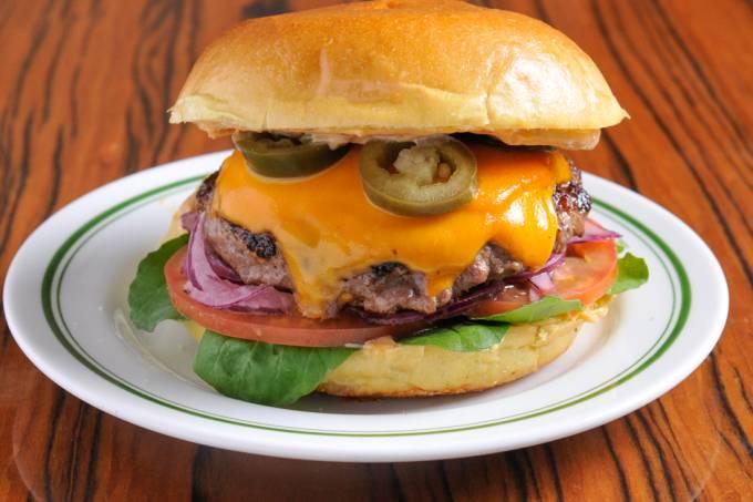 The Fifties Jalapeno Burger