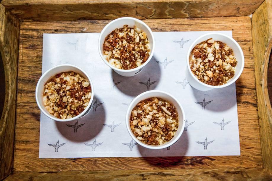 Arroz-doce (12,50 reais o pote): na Padoca do Maní