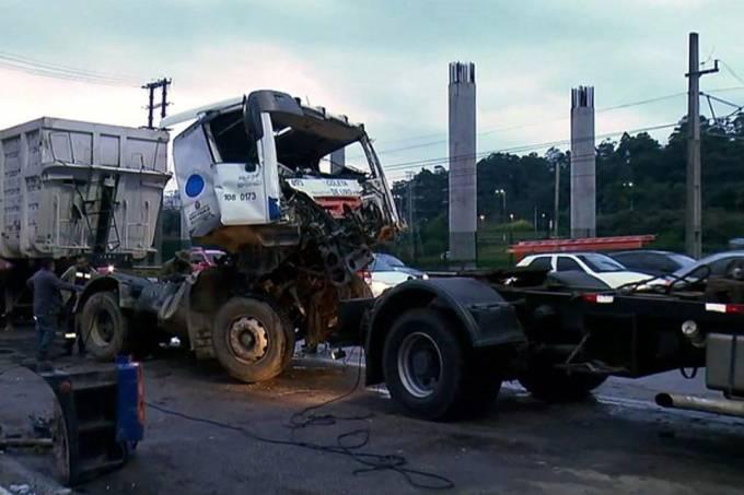 caminhões – rede globo – acidente