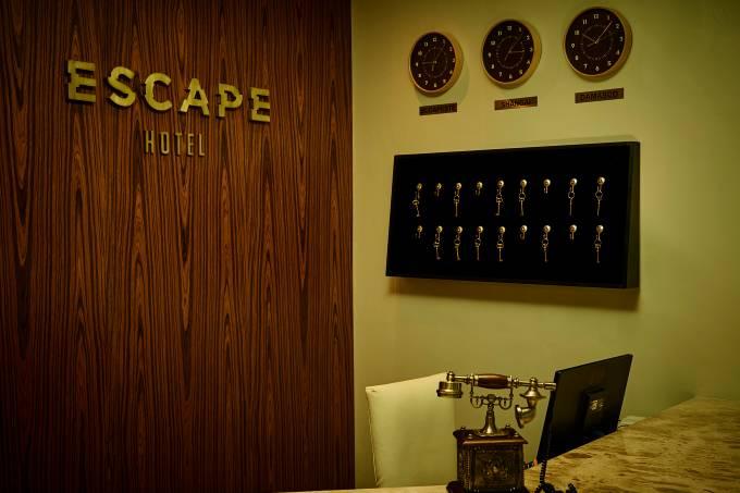 Escape Hotel – recepcao