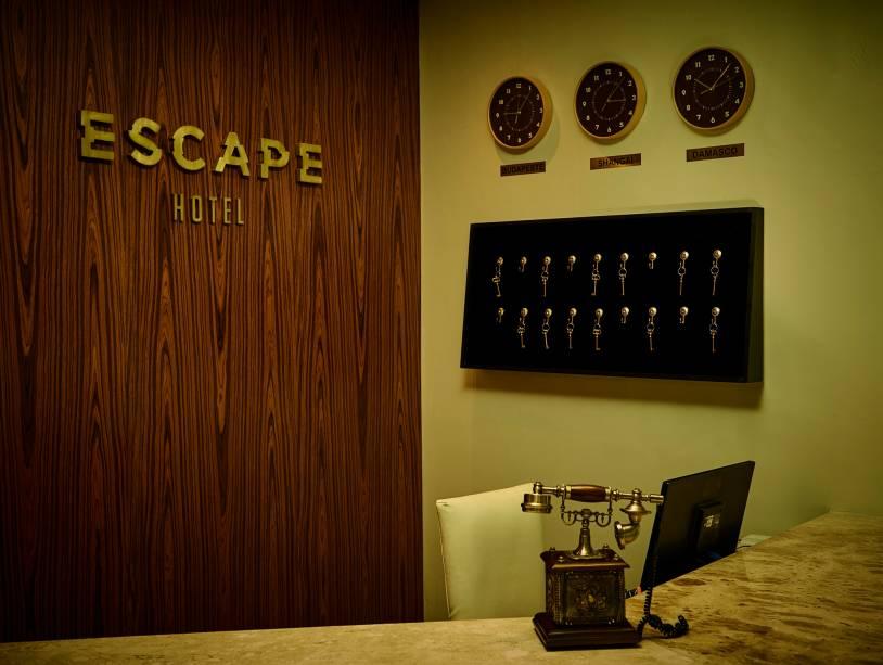 Escape Hotel: recepção
