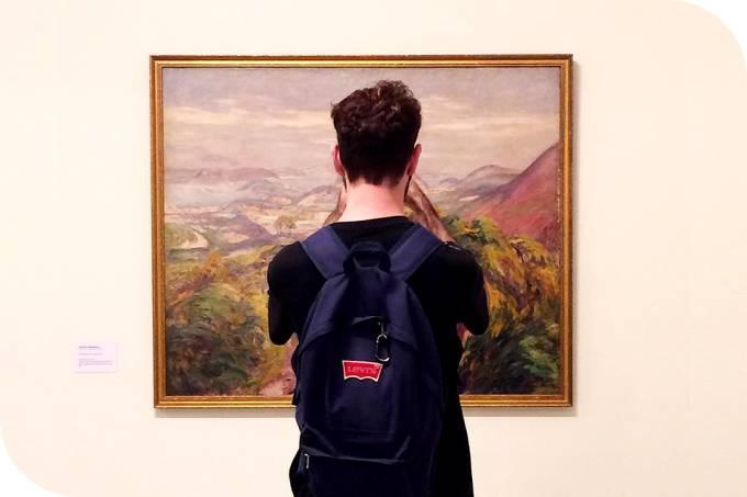 Visita à exposição O Impressionismo e o Brasil