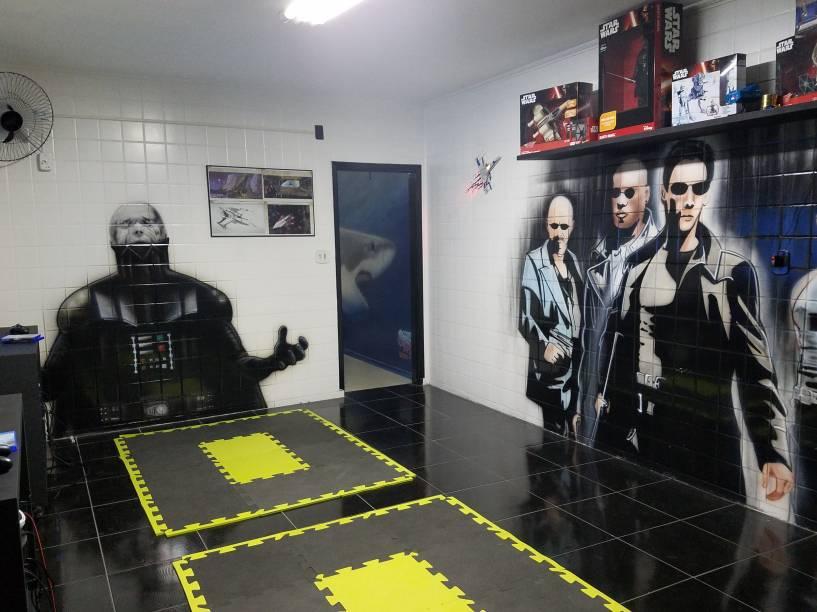 Pixel - Realidade virtual - sala Futuro