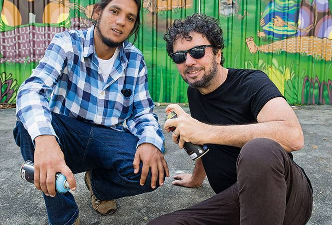 João Armentano e André Mogli