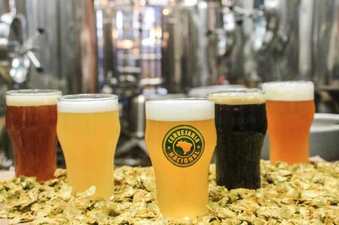 Cervejaria Nacional: chope