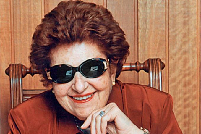 Dorina Nowill, fundadora da Fundação Dorina Nowill para Cegos.