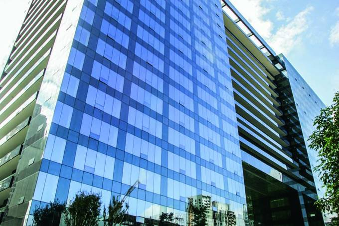 Edifício Pátio Victor Malzone, onde o Google tem seu escritório, na avenida Fari.jpg