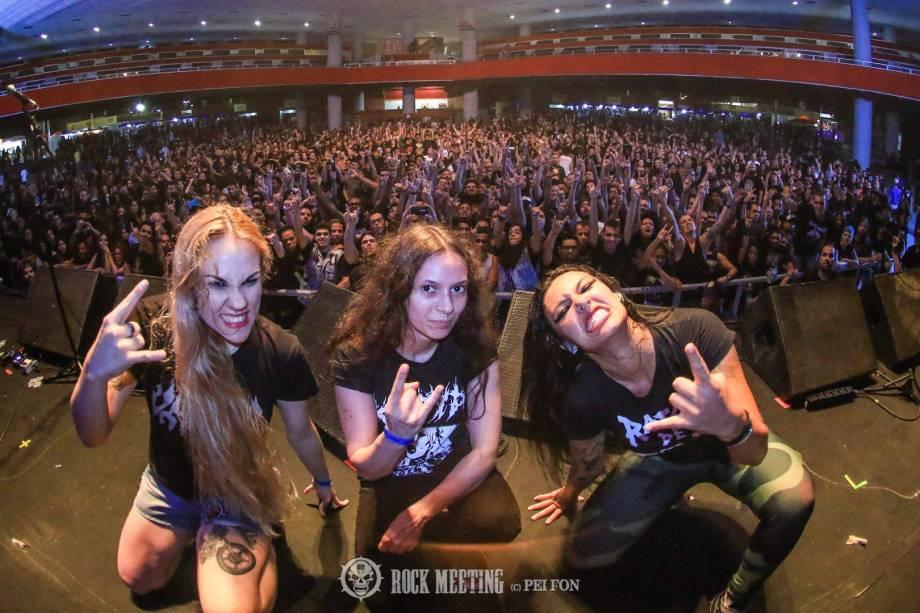 No Festival Abril Pro Rock em Recife 2017