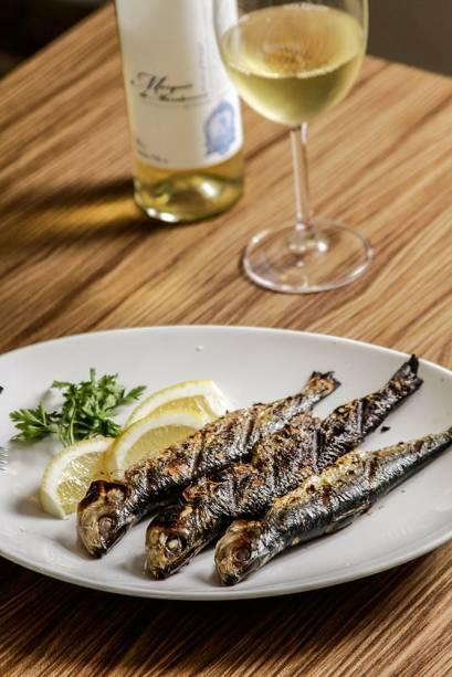 Tasca do Arouche: sardinhas na brasa