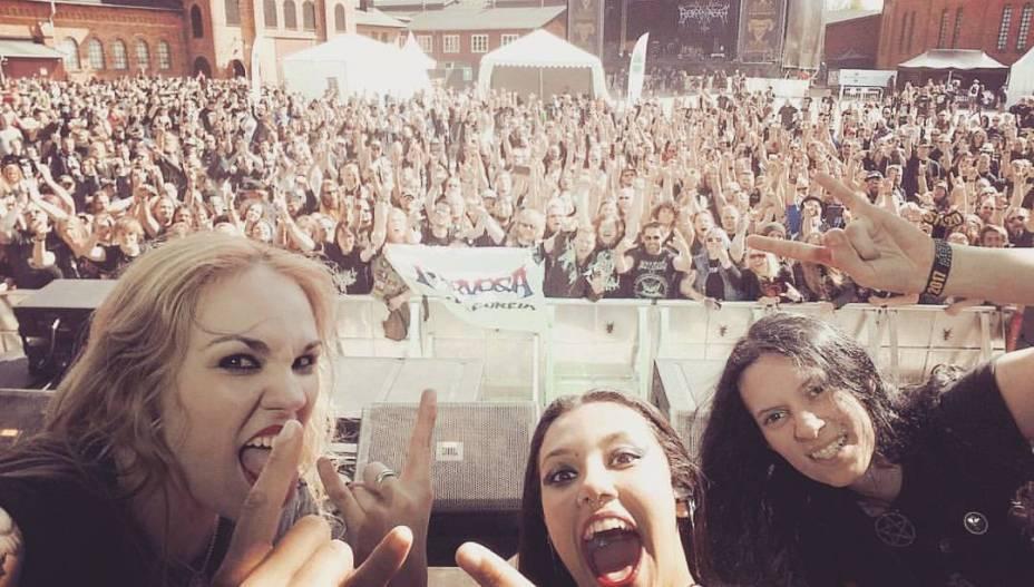 Nervosa em show na Suécia