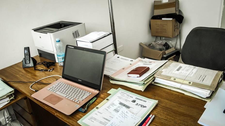 33º DP, em Pirituba:  delegados precisam levar computadores próprios para conseguirem trabalhar