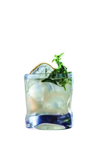 Drinque: basil mash
