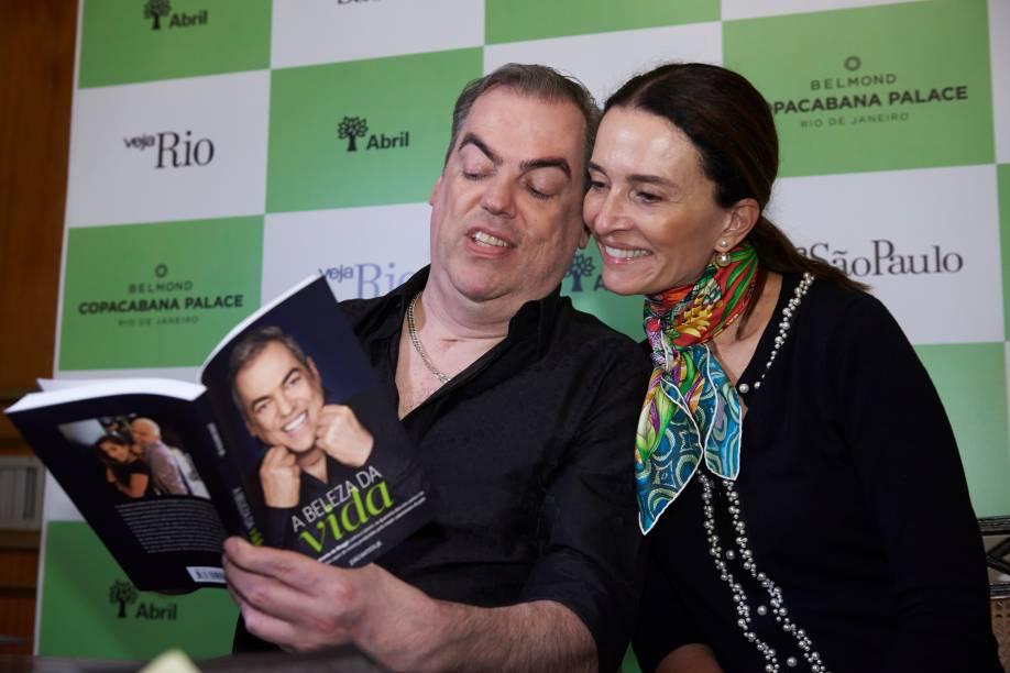 Biaggi e Andrea Natal, do Copa: dois vitoriosos na luta contra o câncer