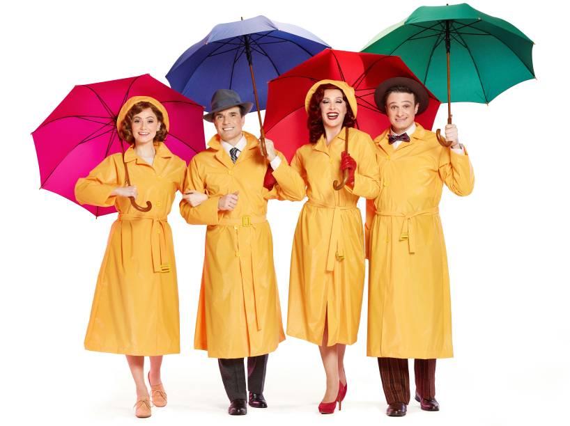 'Cantando na Chuva': espetáculo é baseado no longa-metragem clássico