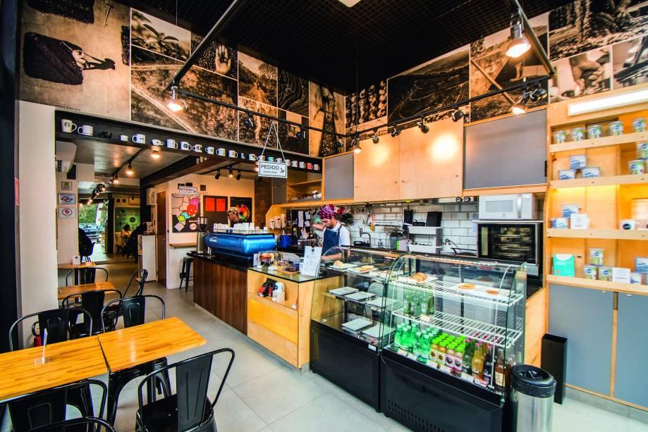 Cupping Café: ambiente moderninho