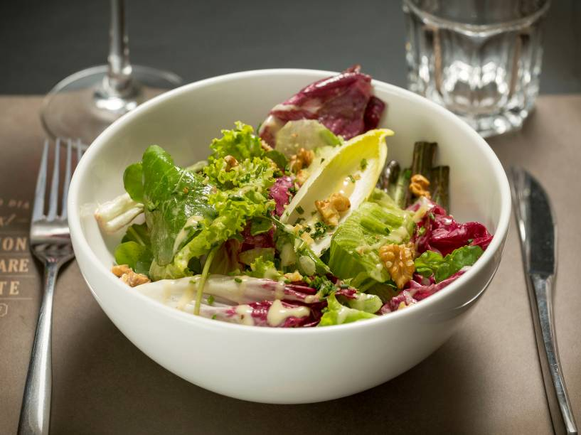 Le Bife: salada de entrada