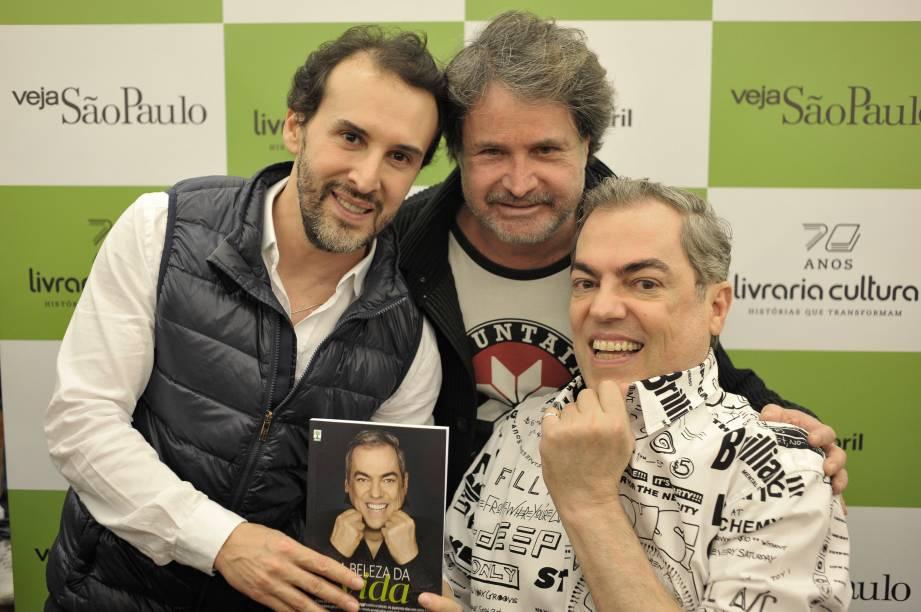 Dream team das tesouras: Marcos Proença, Wanderley Nunes e Biaggi