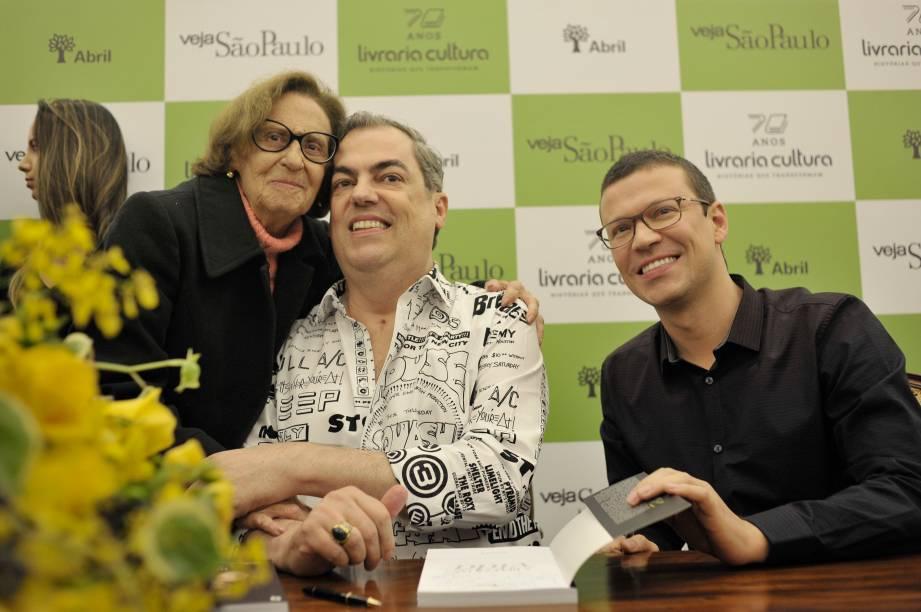 """Laura Cardoso, cliente há décadas de Marco Antonio de Biaggi: """"Você é uma inspiração"""""""