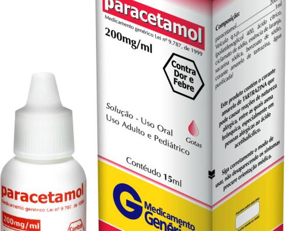 Paracetamol-gotas