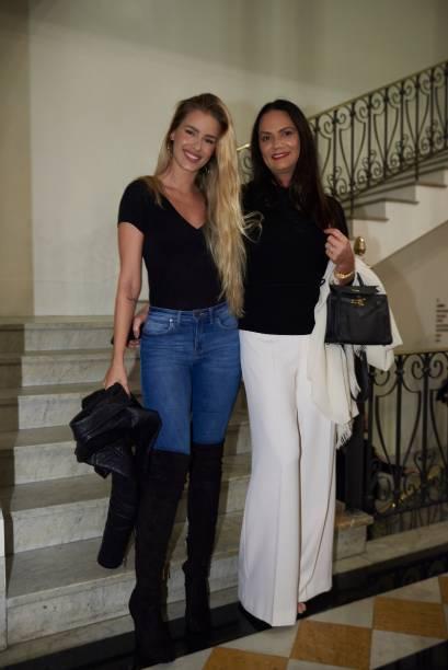 Yasmin e Luiza Brunet: ambas presentes no livro com fotos emblemáticas