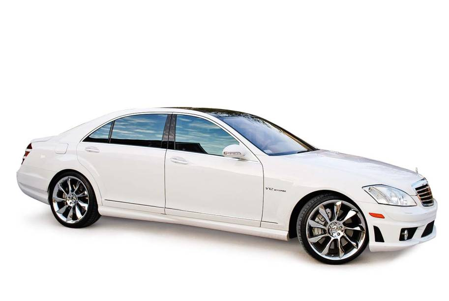 Mercedes branca: acervo preservado