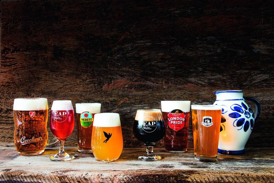 Empório Alto dos Pinheiros: cervejas extraídas na pressão