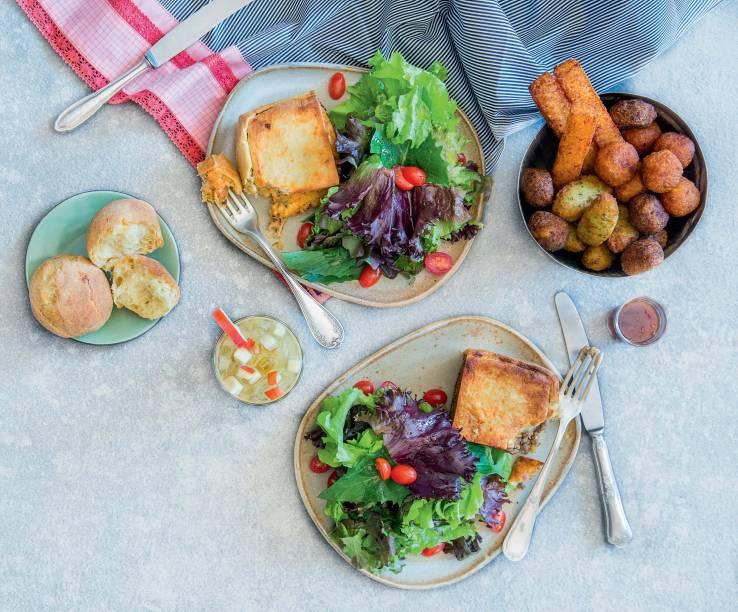 As receitas das comidinhas do Lá da Venda são de Heloisa Bacellar