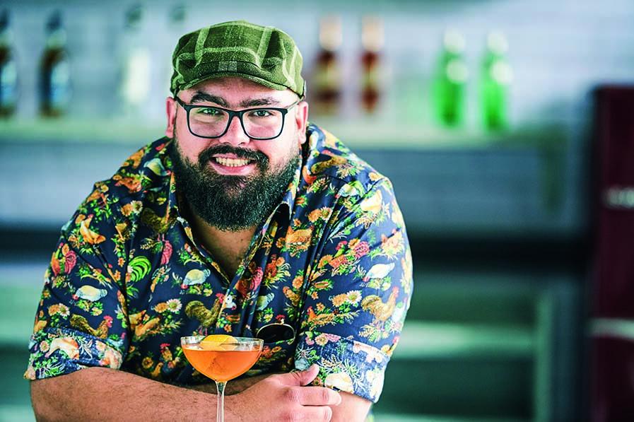 O bartender Diogo Sevilio