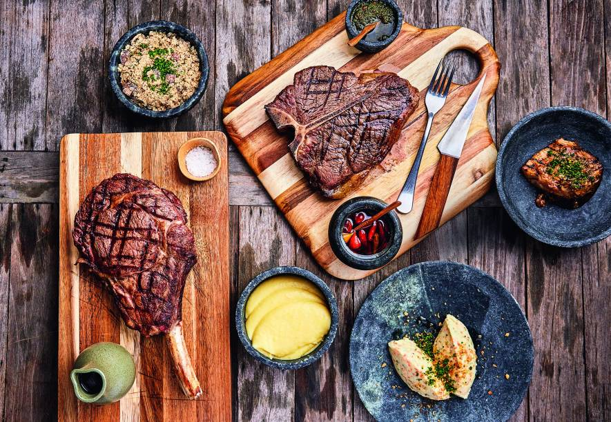 T-bone steak maturado sessenta dias