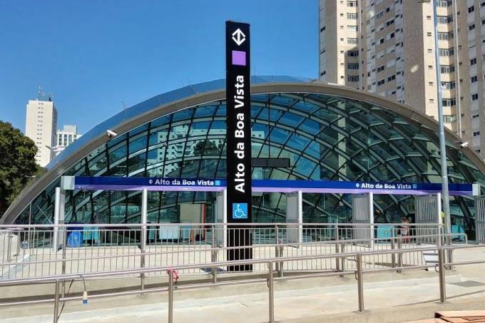 Estação metrô Alto da Boa Vista