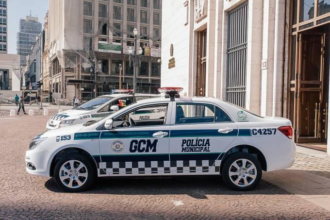 Carro da GCM – Polícia Municipal