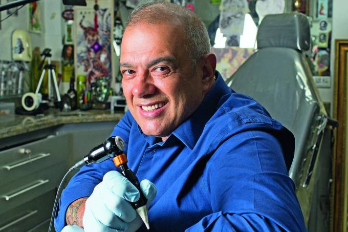 Tatuador Sérgio Maciel Paulistano Nota 10