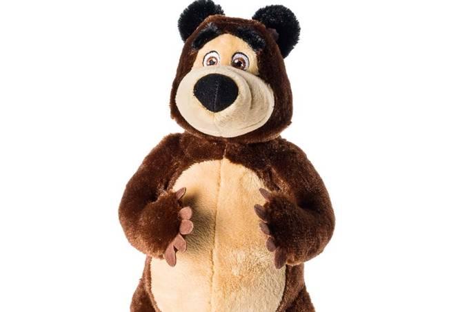 Sunny_Masha e o Urso Pelúcia