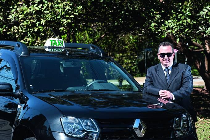 Táxi preto novas regras