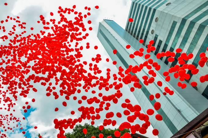 Celebração do Dia Mundial de Combate à AIDS