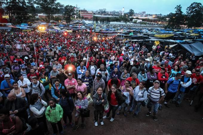 Ocupação Povo Sem Medo no bairro Planalto, em São Bernardo do Campo
