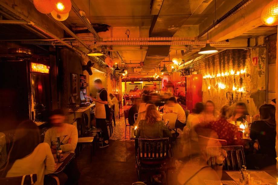 O badalado bar