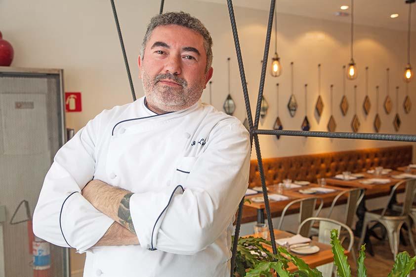 O chef Ivo Lopes