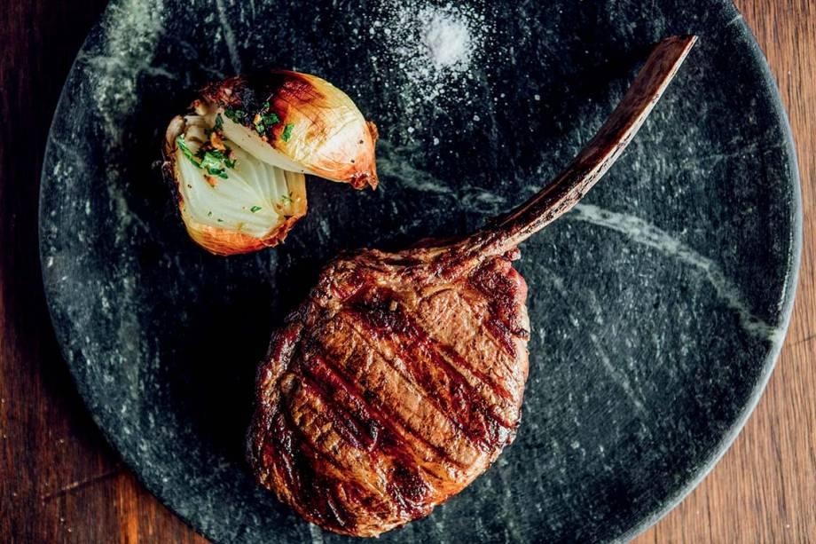 O cowboy steak