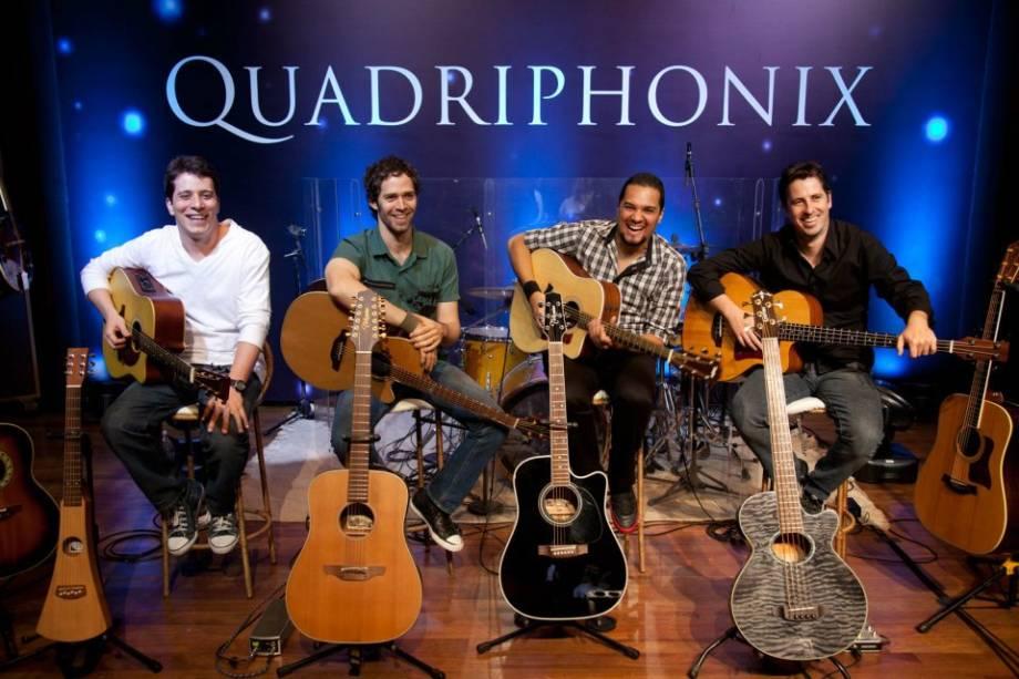 Sábado (21):<span>Quadriphonix, às 18h</span>