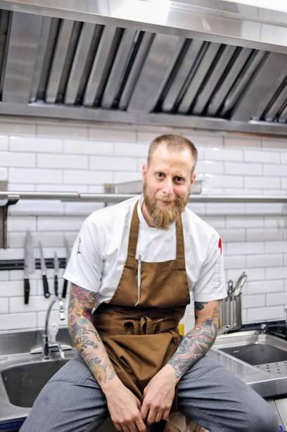 O chef André Mifano