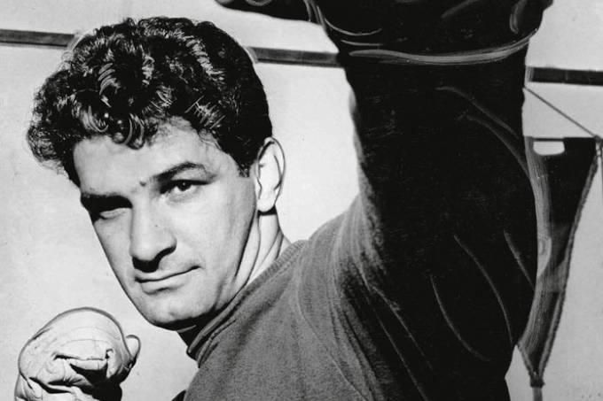 Boxeador Ralph Zumbano.